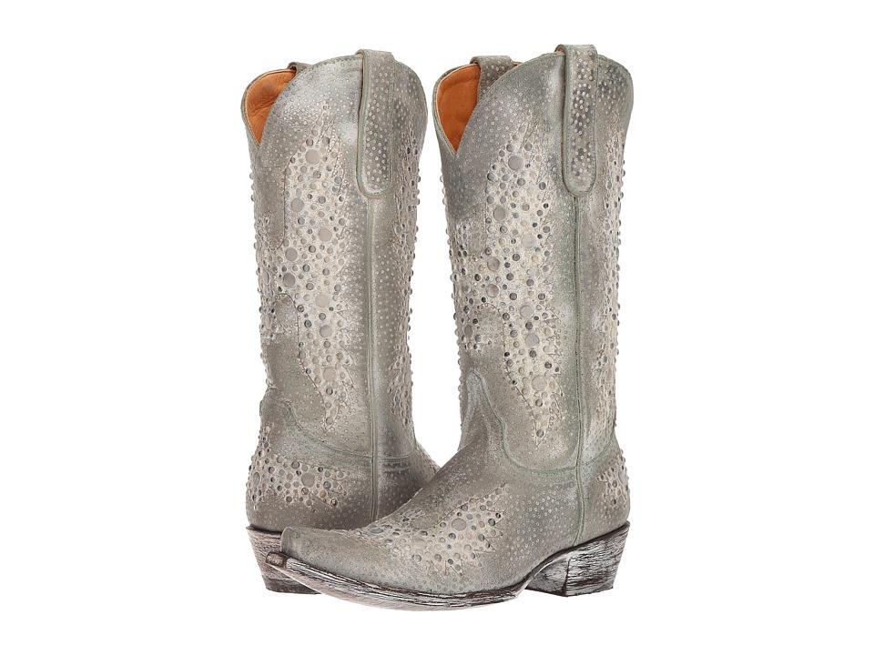 Old Gringo Eagle Metal (Turquoise Leopard) Cowboy Boots