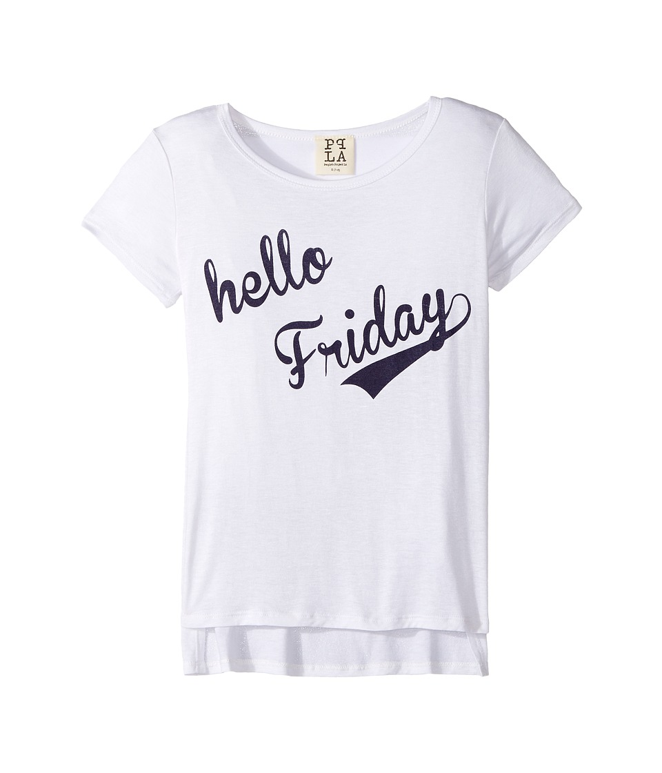 People's Project LA Kids - Hello Friday Square Tee