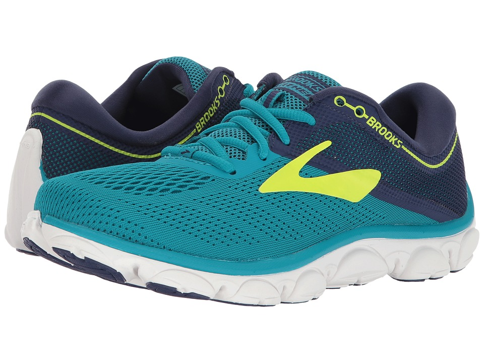 Brooks - Anthem (Blue/Navy/Lime) Womens Running Shoes
