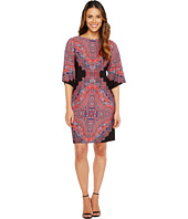 London Times - Persian Medallion Kimono Shift Dress