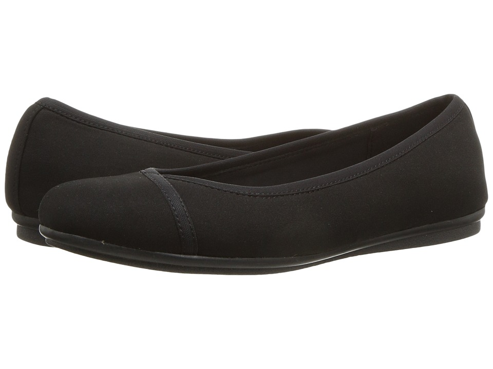 Easy Spirit Gulia (Black/Black Fabric) Women