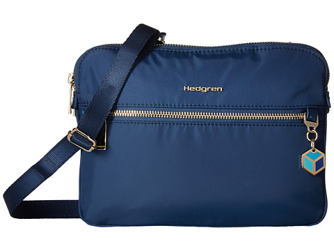 Hedgren Attraction 2 Compartment Crossbody - Nautical Blue