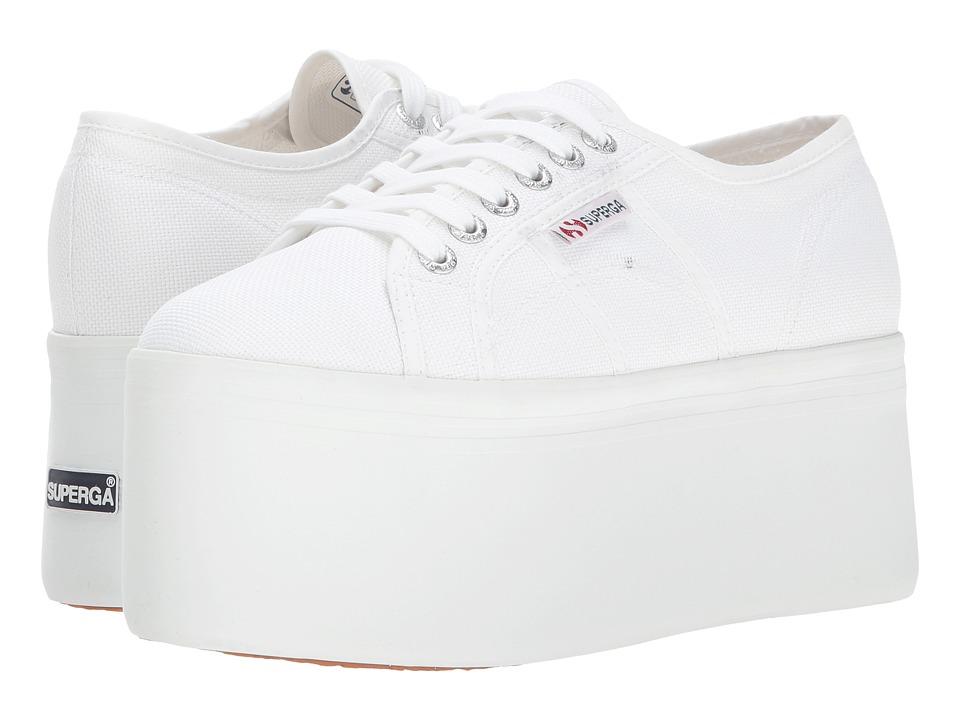 Superga 2802 Super Platform (White) Women