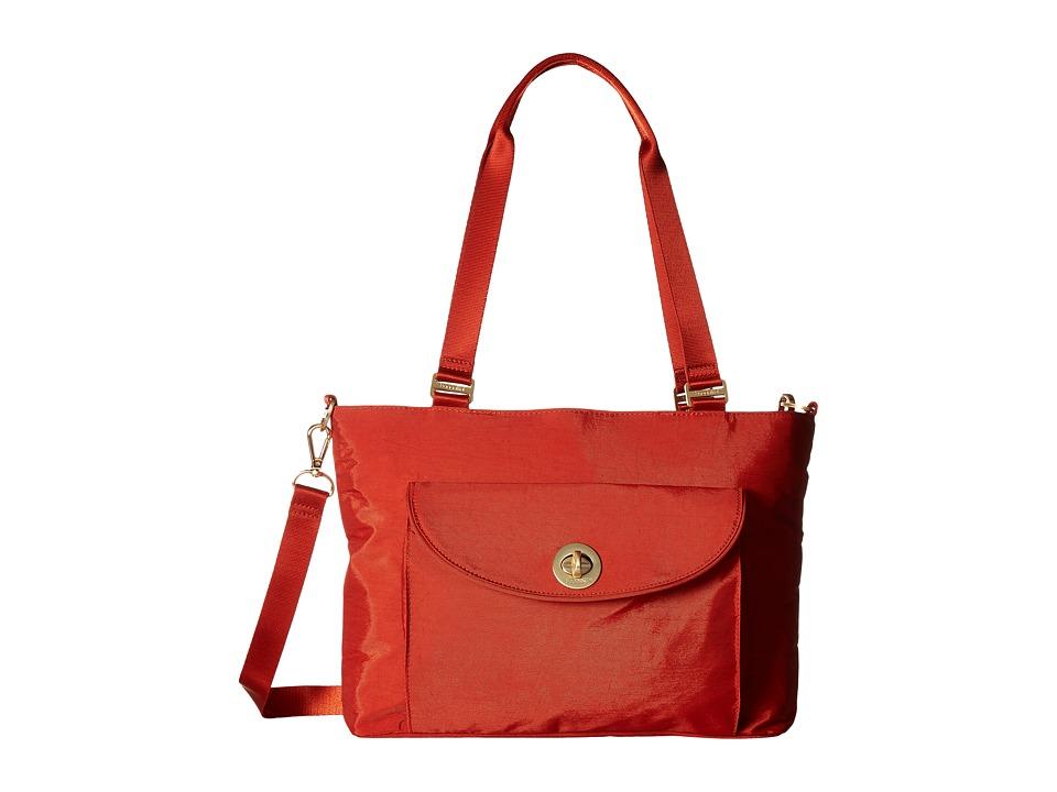 Baggallini Gold La Paz Tote (Adobe) Tote Handbags