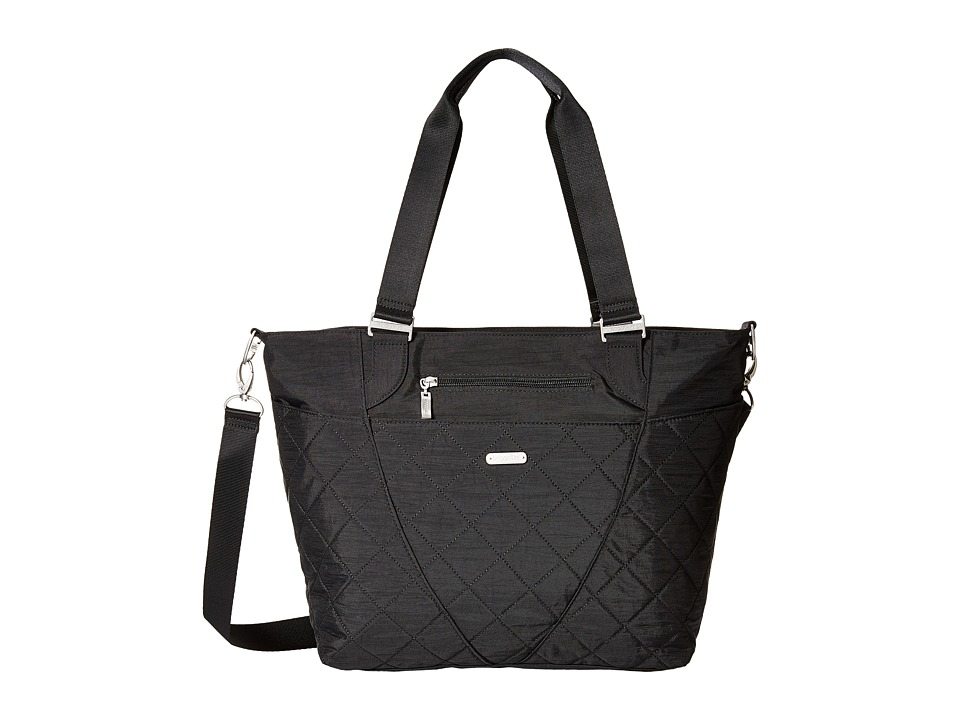 Baggallini - Quilted Avenue Tote with RFID Wristlet