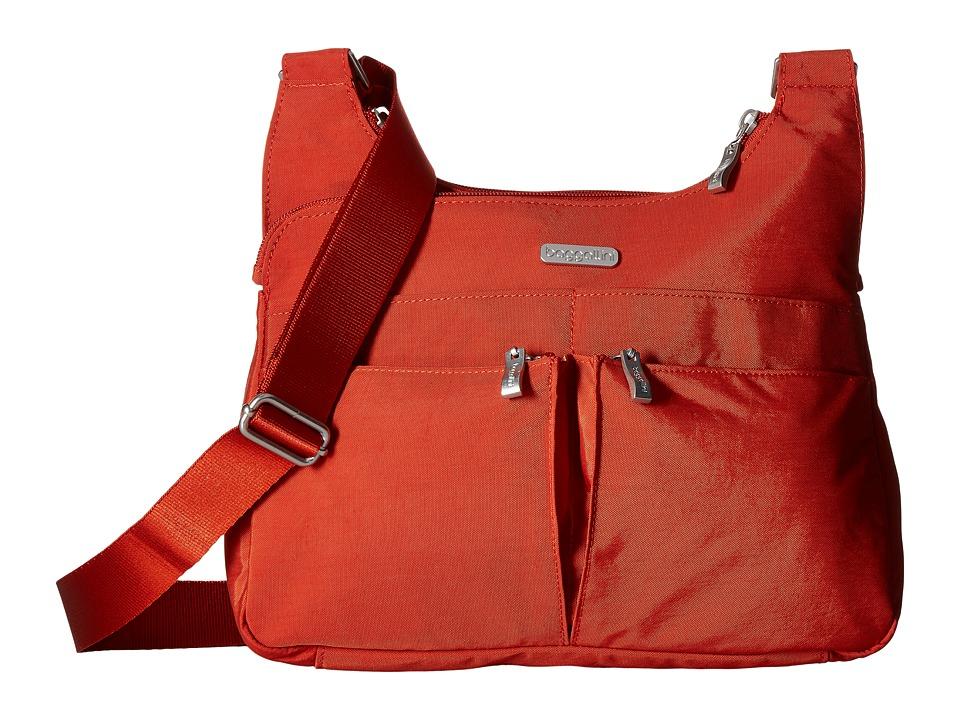 Baggallini Crossover Crossbody (Adobe) Cross Body Handbags