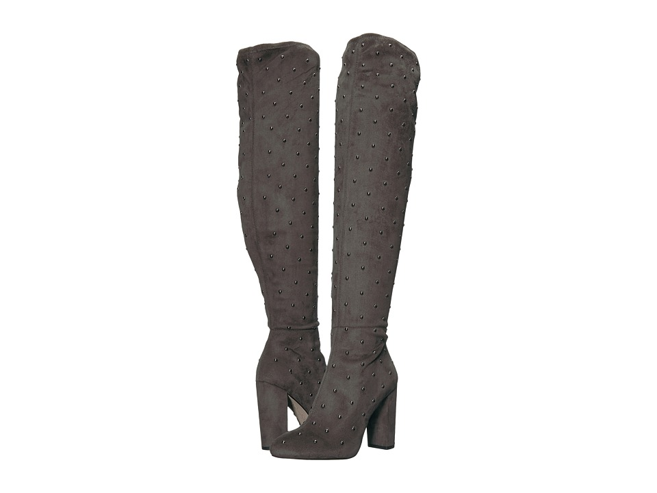 Jessica Simpson Bressy (Really Grey Stretch Microsuede) Women