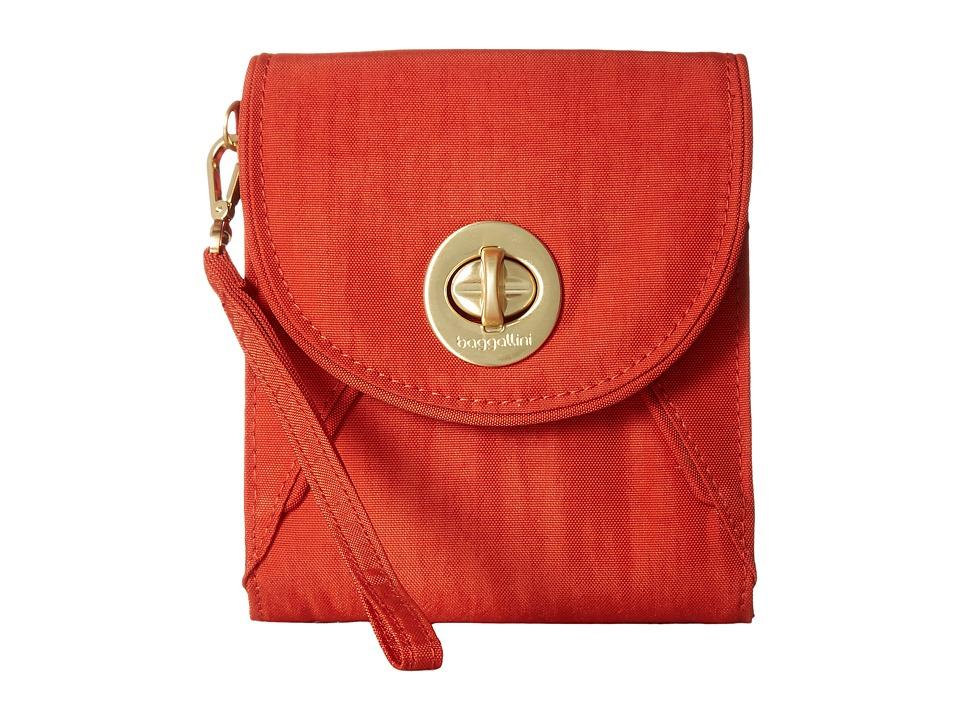 Baggallini Athens RFID Crossbody Wallet (Adobe) Wallet Handbags