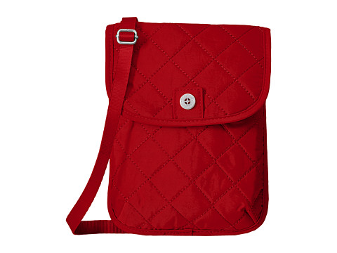 Baggallini RFID Passport Crossbody - Red/Navy