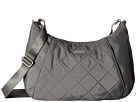 Baggallini Quilted Slim Crossbody Hobo with RFID