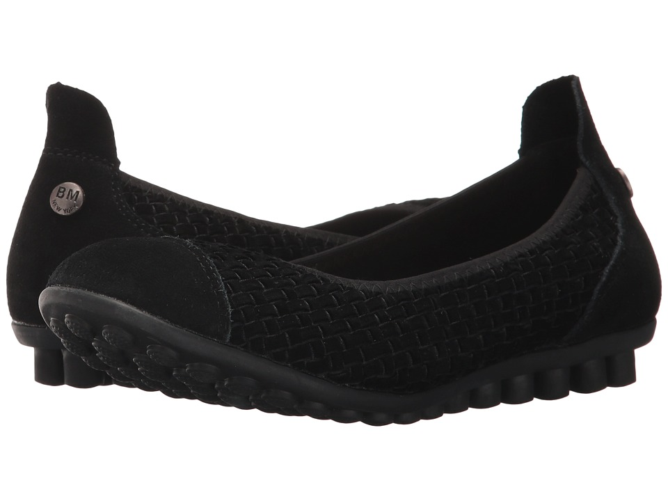 bernie mev. - Bella Me (Black Velvet) Womens Flat Shoes