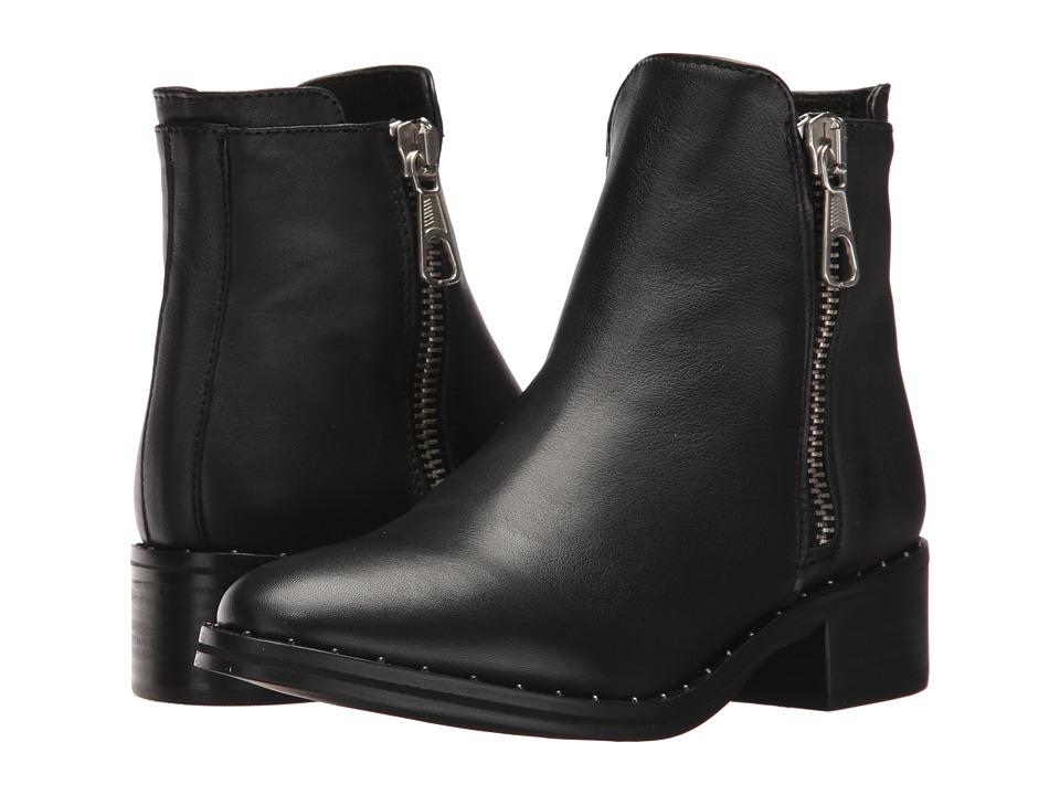 Steve Madden Lanna-S (Black Leather) Women