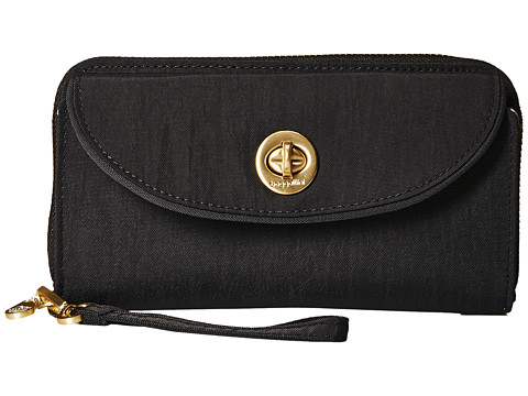 Baggallini RFID Luxor Wallet Wristlet - Black