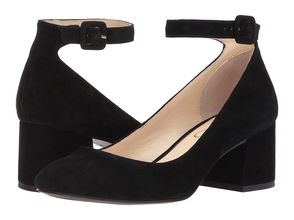 Jessica Simpson - Mayven (Black Lux Kid Suede) High Heels