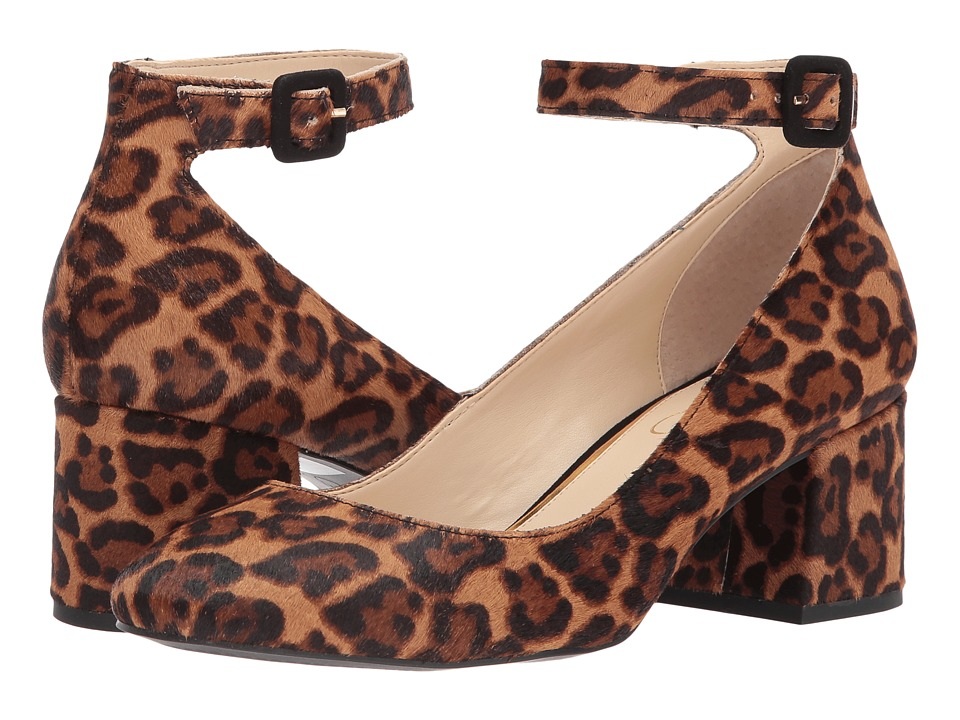Jessica Simpson Mayven 2 (Natural Alicia Leopard Haircalf) High Heels