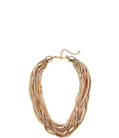 Kenneth Jay Lane - 10 Row Gold Snake Chain Necklace