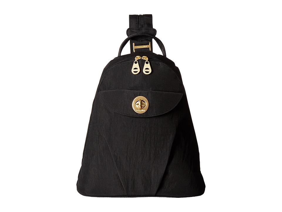 Baggallini Dallas Convertible Backpack (Black) Backpack Bags