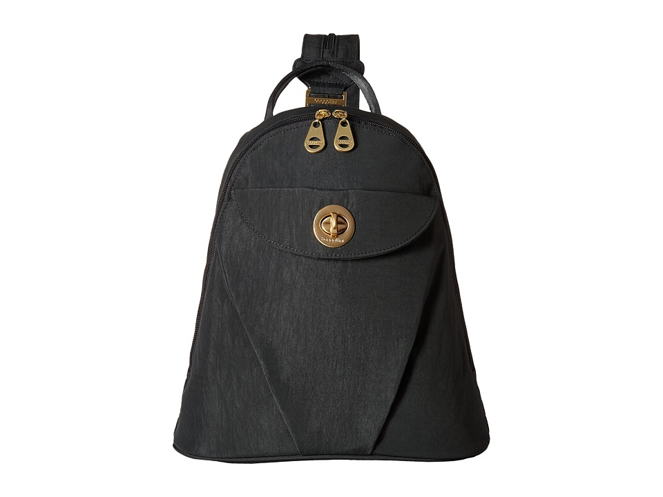 Baggallini Dallas Convertible Backpack (Charcoal) Backpack Bags