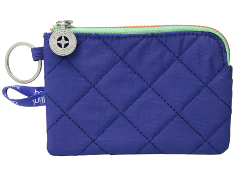 Baggallini RFID Card Case - Royal Blue/Mint