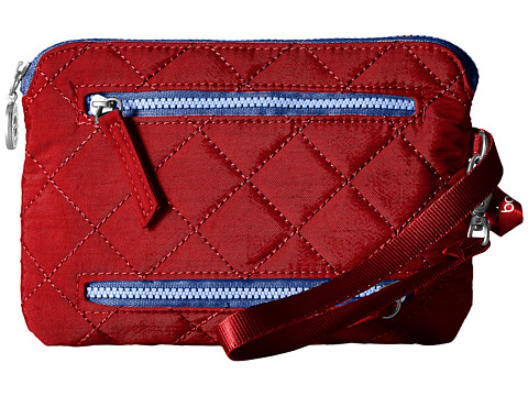 Baggallini RFID Currency & Passport Organizer - Red/Navy