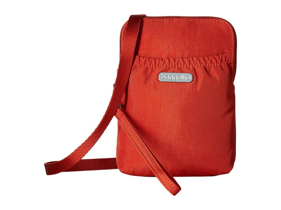 Baggallini Bryant Pouch (Adobe) Cross Body Handbags
