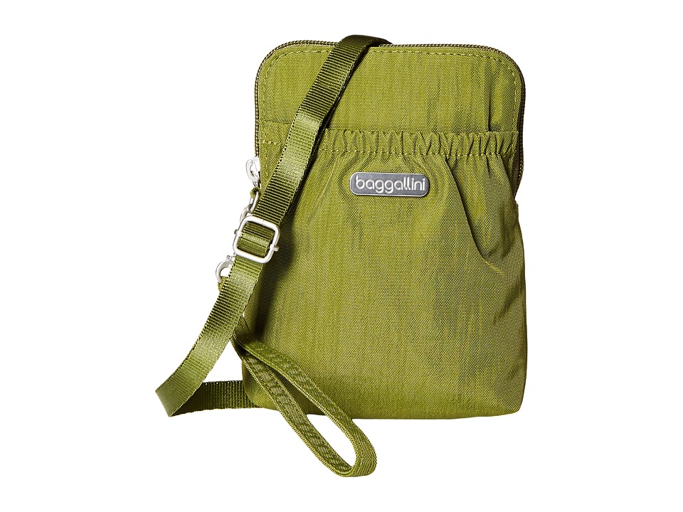 Baggallini Bryant Pouch (Moss) Cross Body Handbags