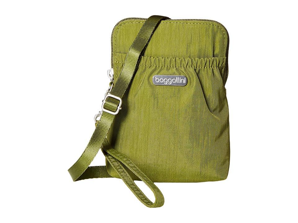 Baggallini Bryant Pouch (Moss) Cross Body Handbags