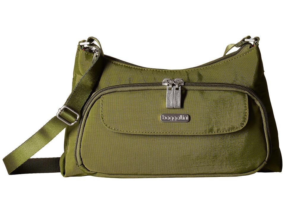 Baggallini Everyday Bagg (Moss) Cross Body Handbags