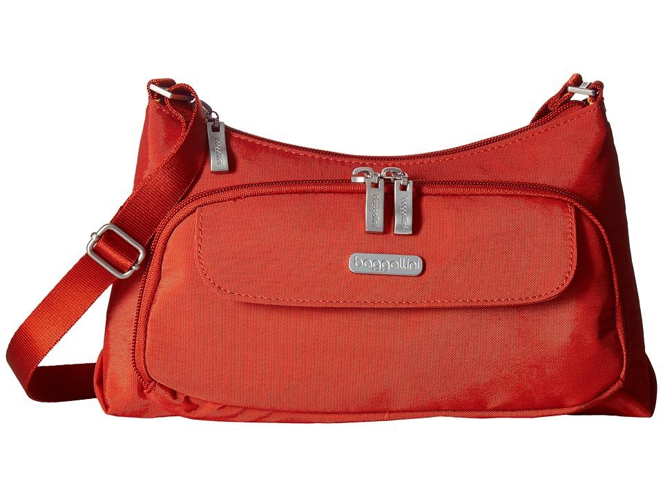 Baggallini Everyday Bagg (Adobe) Cross Body Handbags