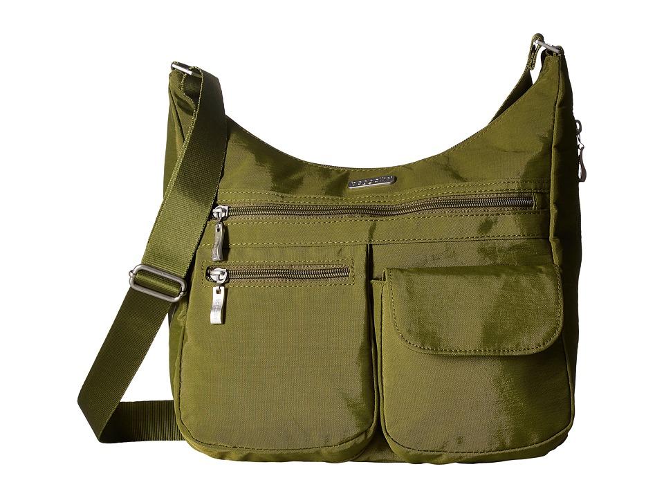 Baggallini Everywhere Bag (Moss) Cross Body Handbags