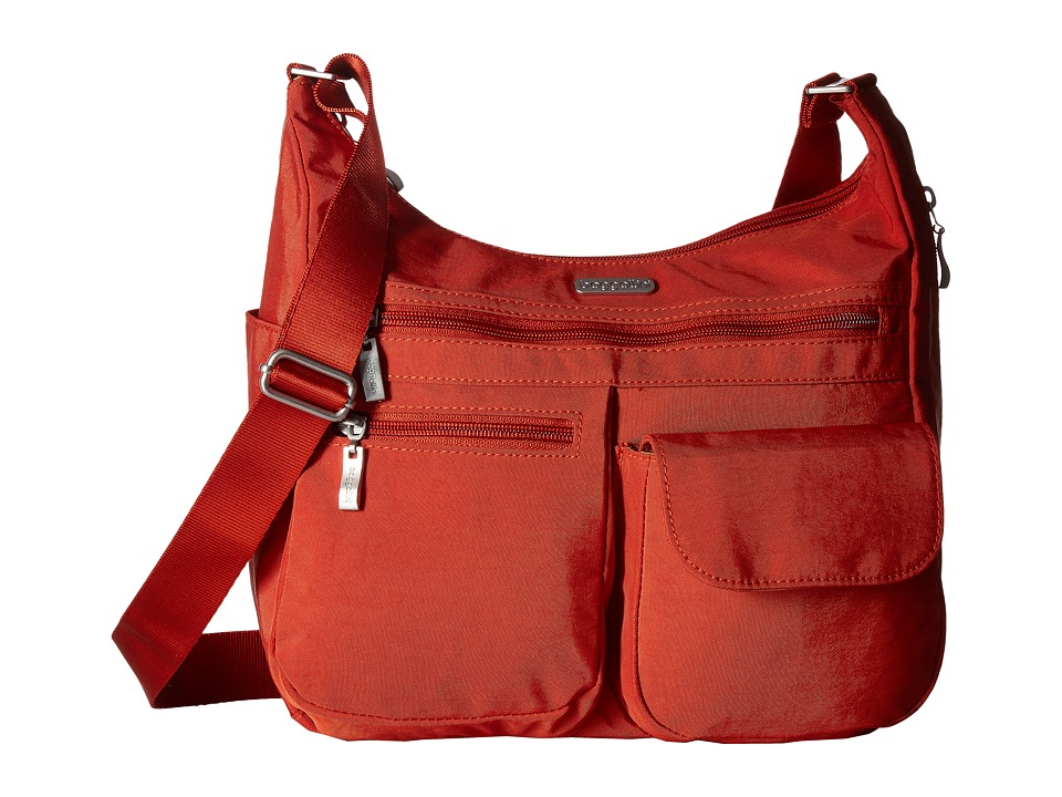 Baggallini Everywhere Bag (Adobe) Cross Body Handbags