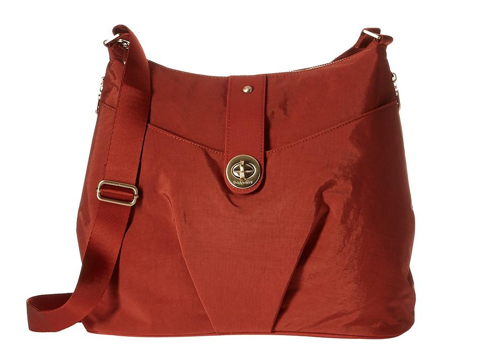 Baggallini Gold Helsinki Bag (Adobe) Handbags