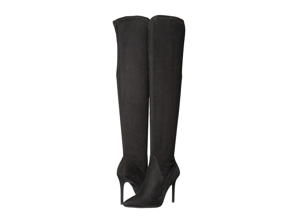 Jessica Simpson - Loring (Black Stretch Microsuede) Womens Boots