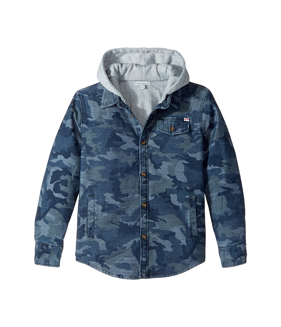 Appaman Kids - Glen Full Lined Hooded Flannel Sweatshirt