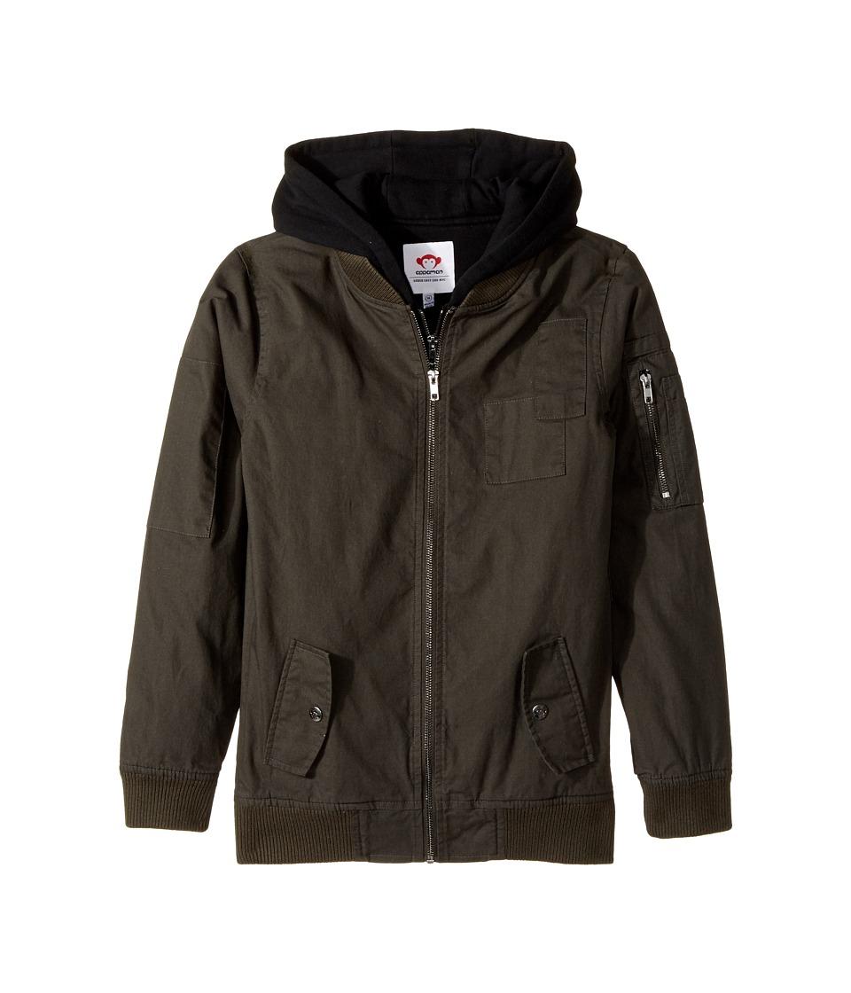 Appaman Kids - Sweatshirt Lined Southside Bomber Jacket
