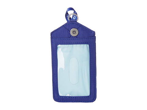Baggallini RFID Lanyard - Royal Blue/Mint