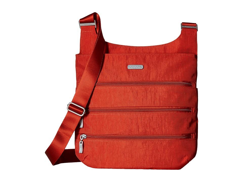 Baggallini Big Zipper Bag (Adobe) Bags