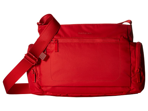 Hedgren Commuter Horizontal Crossbody with RFID - Tango Red