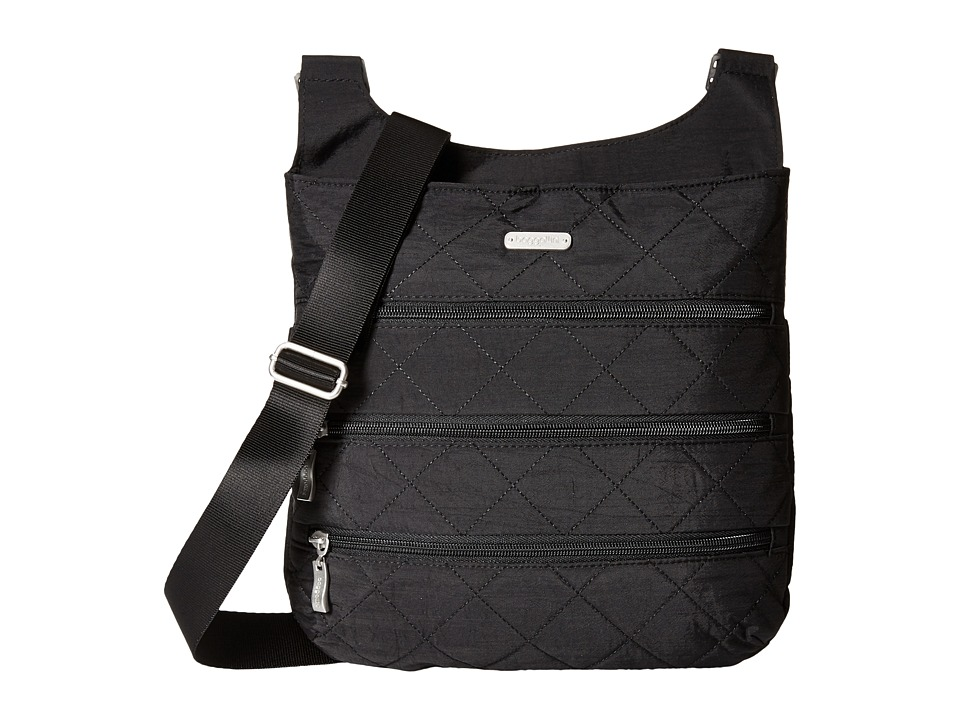 Baggallini - Quilted Big Zipper Bag with RFID