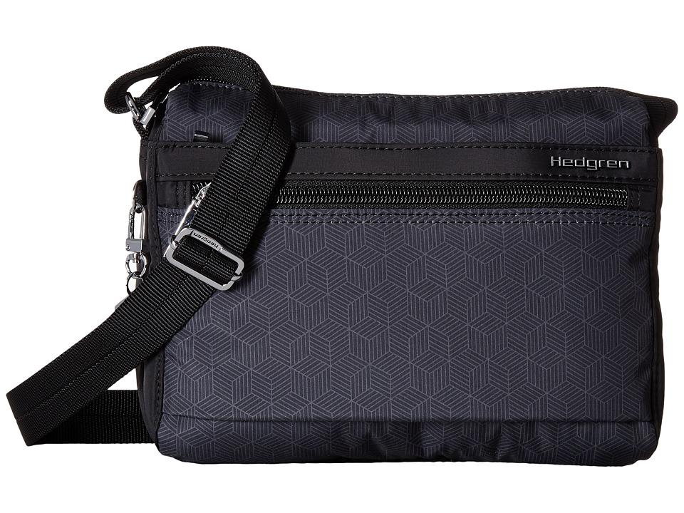 Hedgren - Eye Shoulder Bag w/ RFID (Cube Print) Bags