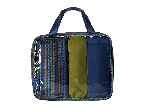 Baggallini Travel Trio - Moss Stripe Multi