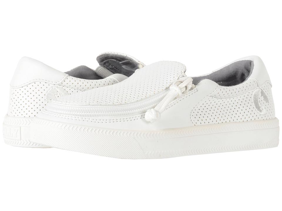 BILLY Footwear Kids - Classic Low Perf (Toddler/Little Kid/Big Kid) (White Perf) Kids Shoes