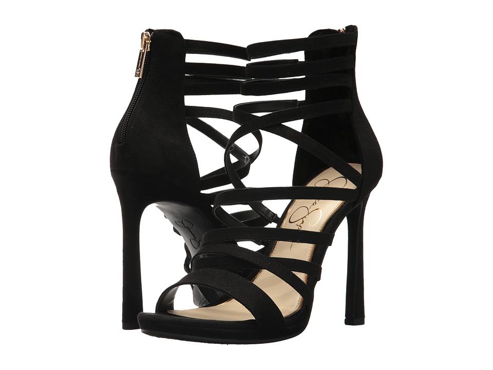 Jessica Simpson Palkaya (Black Microsuede) High Heels