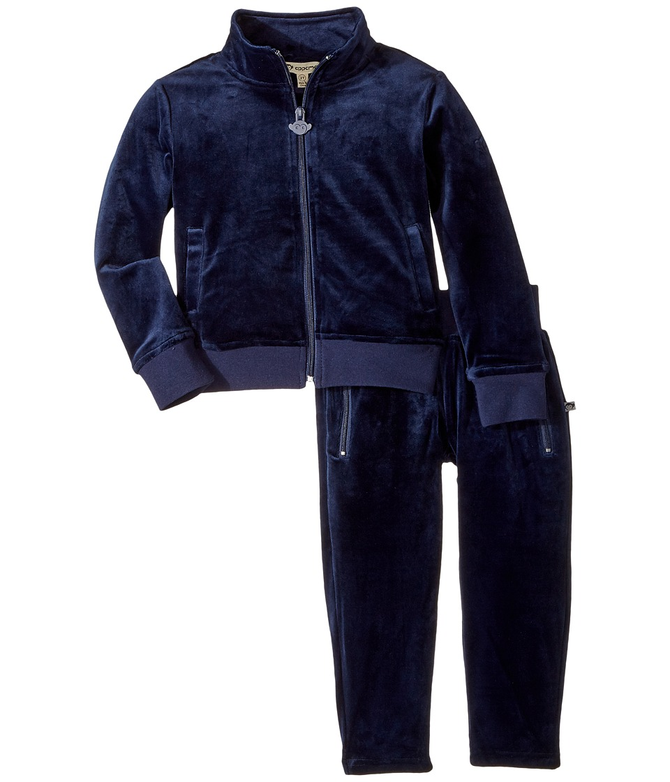 Appaman Kids - Paulie Extra Soft Velour Tracksuit Set