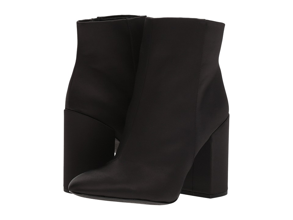 Jessica Simpson - Windee (Black Crystal Satin) Womens Boots
