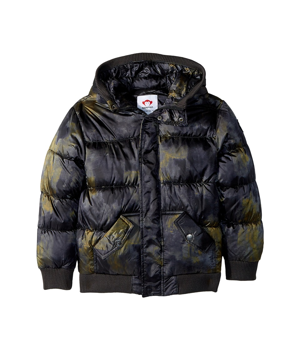 Appaman Kids - Down Filled Knit Detail Puffy Coat