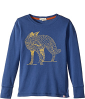 Appaman Kids - Extra Soft Fox Long Sleeve Tee (Toddler/Little Kids/Big Kids)