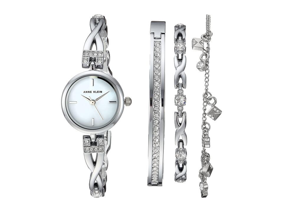 Anne Klein - AK-3083SVST (Silver-Tone) Jewelry Sets
