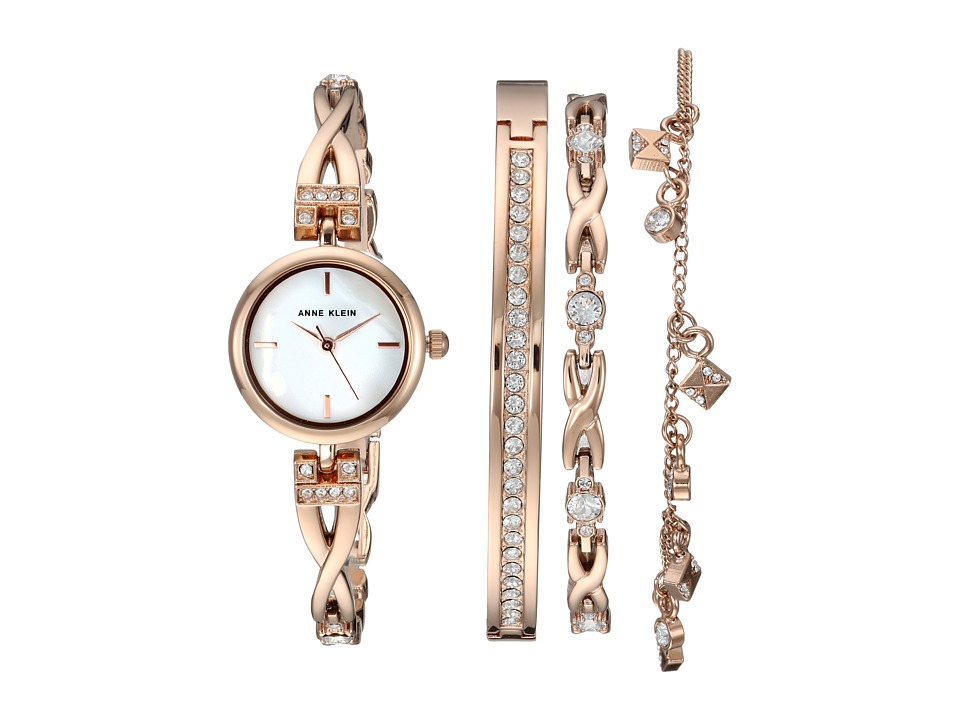 Anne Klein - AK-3082RGST (Rose Gold-Tone) Jewelry Sets