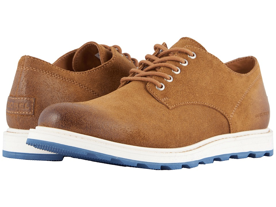 SOREL - Madson Oxford Waterproof (Camel Brown) Mens Shoes
